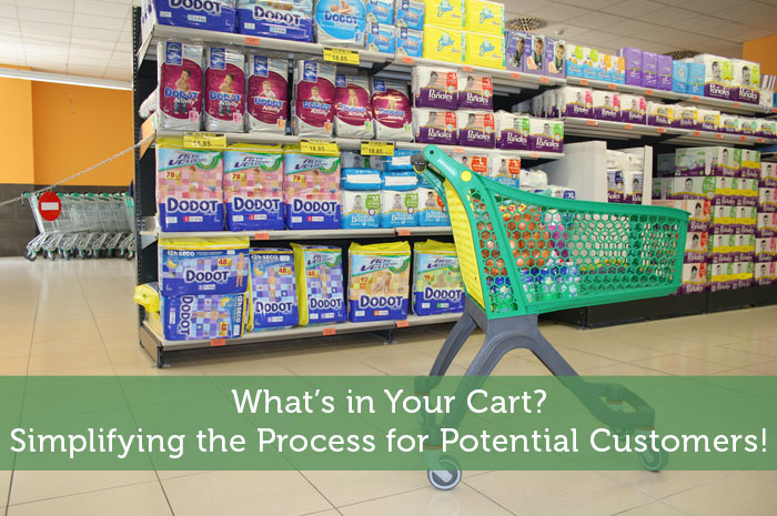 What's in Your Cart? Simplifying the Process for Potential Customers!
