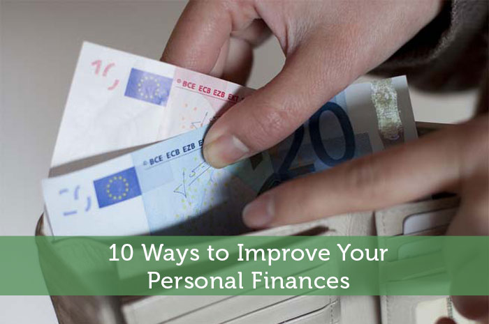 10 Ways to Improve Your Personal Finances