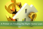 A Primer on Finding the Right Home Loan