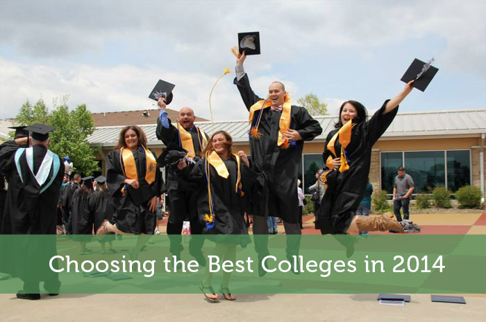 Choosing the Best Colleges in 2014