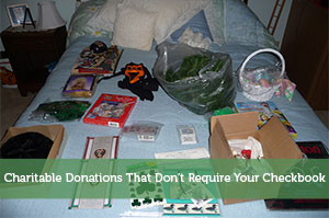 Charitable Donations That Don't Require Your Checkbook