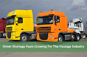 Driver Shortage Fears Growing For The Haulage Industry