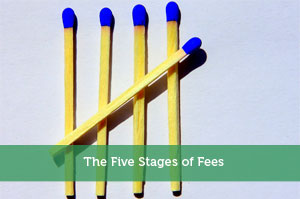 The Five Stages of Fees