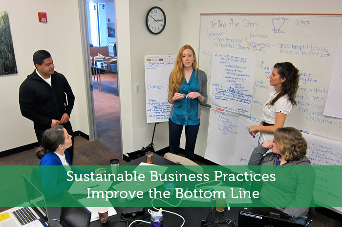 Sustainable Business Practices Improve the Bottom Line