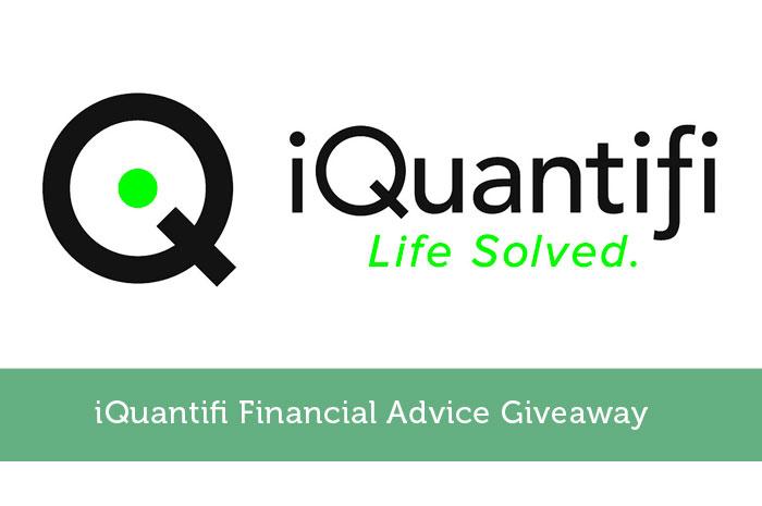 iQuantifi Financial Advice Giveaway