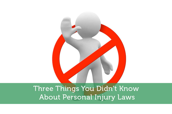 Three Things You Didn't Know About Personal Injury Laws