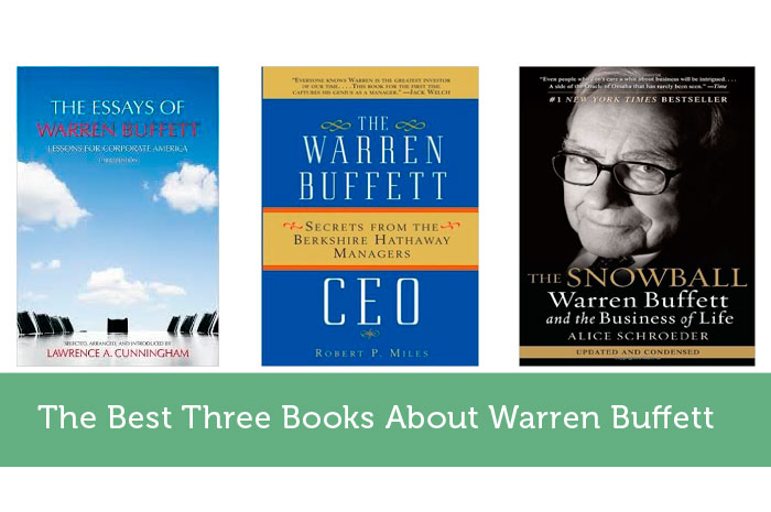 The Best Three Books About Warren Buffett