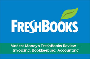 Modest Money's FreshBooks Review - Invoicing, Bookkeeping, Accounting