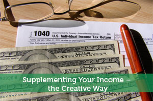 Supplementing Your Income – the Creative Way