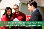 How the California Housing Financing Agency Helps First Time Homebuyers