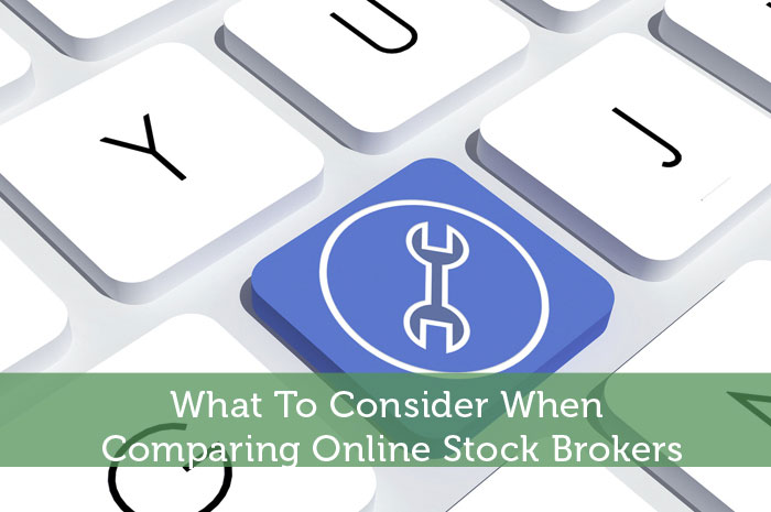 Stock broker or online