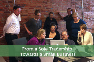 From a Sole Tradership Towards a Small Business