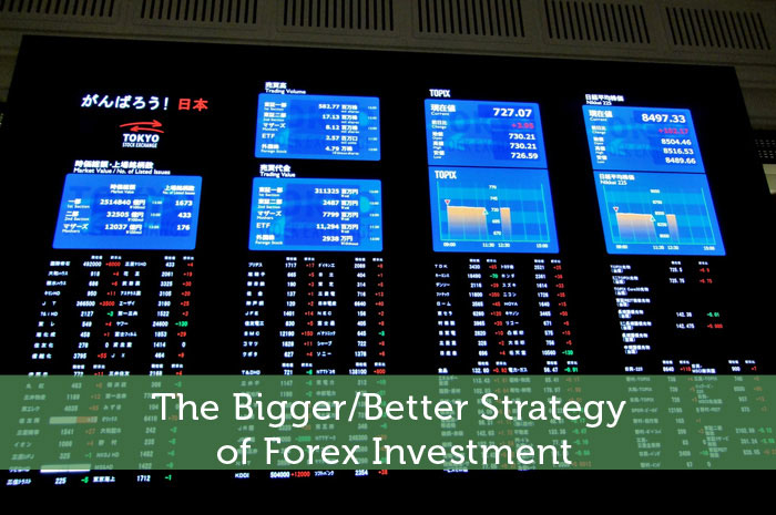 Forex investment strategy