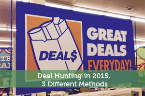 Adam-by-Deal Hunting in 2015, 3 Different Methods