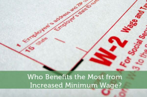 Who Benefits the Most from Increased Minimum Wage?