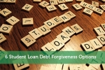6 Student Loan Debt Forgiveness Options