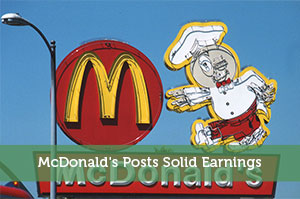 McDonald's Posts Solid Earnings