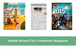 Modest Money's Top 3 Investment Magazines