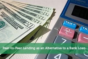Peer-to-Peer Lending as an Alternative to a Bank Loan