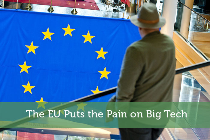 The EU Puts the Pain on Big Tech