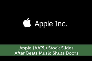 Josh Rodriguez-by-Apple (AAPL) Stock Slides After Beats Music Shuts Doors