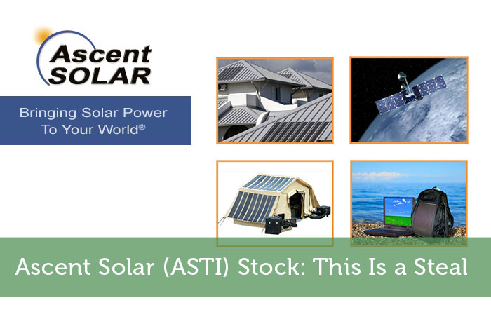 Ascent Solar (ASTI) Stock: This Is a Steal