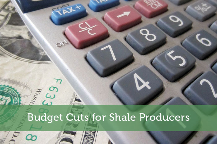 Budget Cuts for Shale Producers