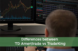 Differences between TD Ameritrade vs TradeKing