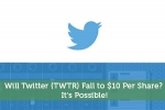 Will Twitter (TWTR) Fall to $10 Per Share? It's Possible!