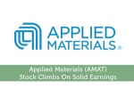Applied Materials (AMAT) Stock Climbs On Solid Earnings