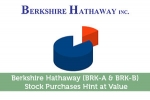 Berkshire Hathaway (BRK-A & BRK-B) Stock Purchases Hint at Value