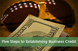 Adam-by-Five Steps to Establishing Business Credit