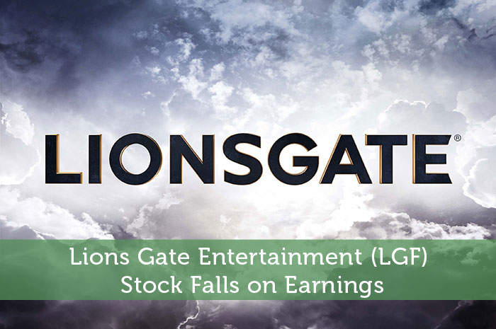 Lions Gate Entertainment (LGF) Stock Falls on Earnings