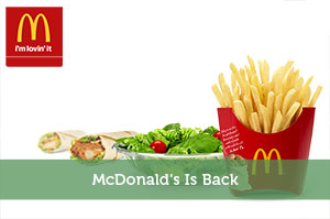 McDonald's Is Back