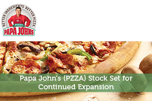 Steve Jones-by-Papa John's (PZZA) Stock Set for Continued Expansion