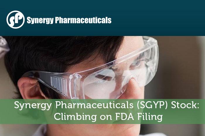 Synergy Pharmaceuticals (SGYP) Stock: Climbing on FDA Filing