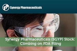 Synergy Pharmaceuticals (SGYP) Stock: Climbing on FDA Filing