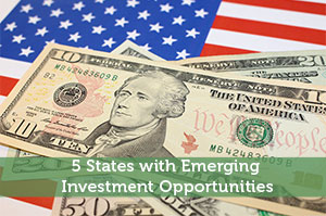 5 States with Emerging Investment Opportunities