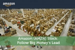 Amazon (AMZN) Stock: Follow Big Money's Lead