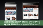 BlackBerry (BBRY) Stock: Should You Worry About Facebook & Whatsapp?