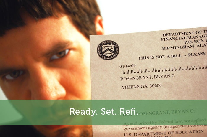 Ready. Set. Refi.