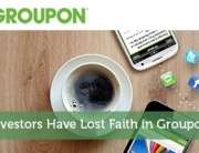 Investors Have Lost Faith in Groupon