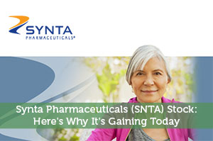 Synta Pharmaceuticals (SNTA) Stock: Here's Why It's Gaining Today
