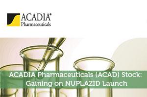 ACADIA Pharmaceuticals (ACAD) Stock: Gaining on NUPLAZID Launch