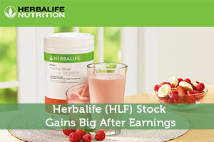 Herbalife (HLF) Stock Gains Big After Earnings