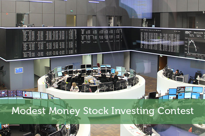 Modest Money Stock Investing Contest