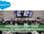 Salesforce.com (CRM) Stock: Climbing on Solid Earnings & Guidance