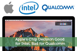 Anum Yoon-by-Apple's Chip Decision Good for Intel, Bad for Qualcomm