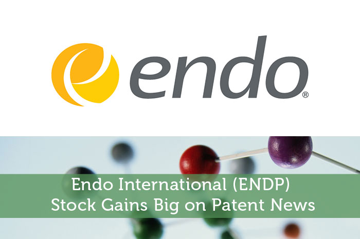 Endo International (ENDP) Stock Gains Big on Patent News