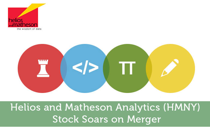 Helios and Matheson Analytics (HMNY) Stock Soars on Merger